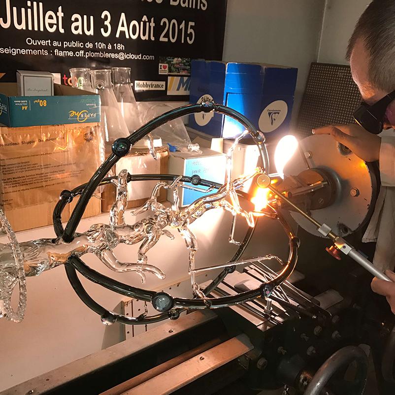 Préparation MOF - Mad Verrerie D'Art   Frédéric Demoisson