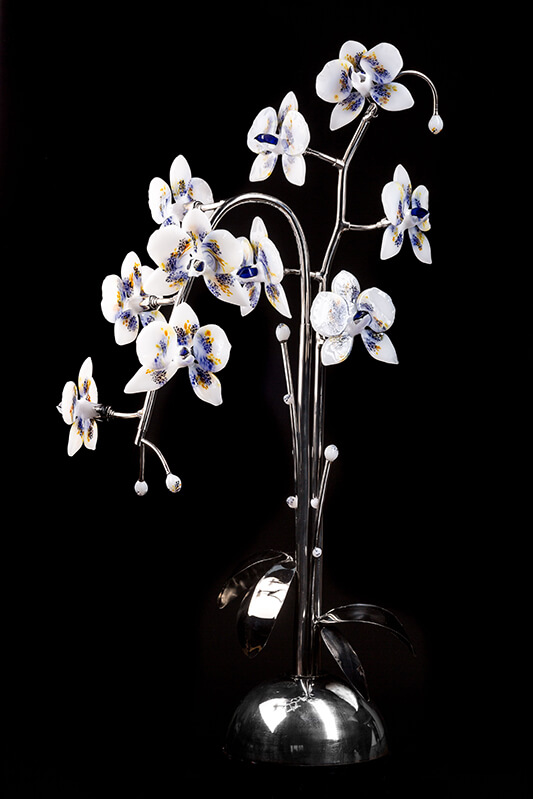 Orchidee de verre - Mad Verrerie D'Art | Frédéric Demoisson